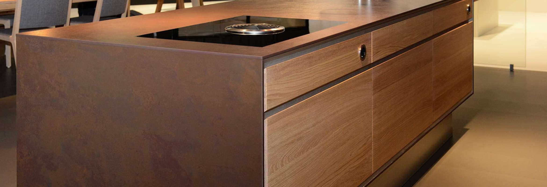Dekton top cucina rivestimenti interni esterni e facciate tecknoimport - Piano cucina in dekton ...